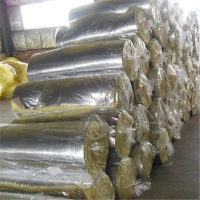 高品质隔音保温降噪玻璃棉卷毡 5公分厚48K铝箔贴面玻璃棉保