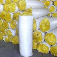成都销售单面铝箔贴面玻璃棉卷毡,屋面保温棉。