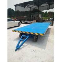 牵引式平板车 牵引平板拖车 叉车平板车 重型工具车