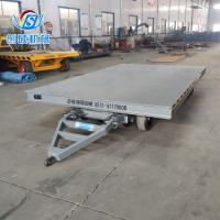 牽引式平板車 重型工具車 礦用平板車 物流轉運臺車