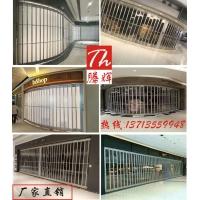 深圳折叠门厂家,商场透明铝合金折叠门,美观透明厂家直销
