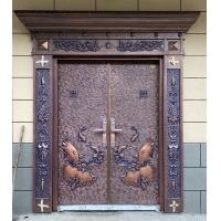 昆明佐夫铸铝门别墅非标大门子母门进户门私人订制