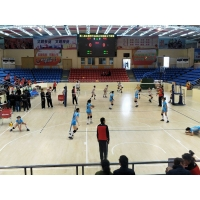昊康-室内排球馆运动木地板