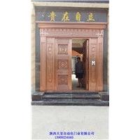 铜门网络化 数据化铜门