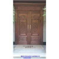 天昱铜门 端午铜门 铜门安装方法