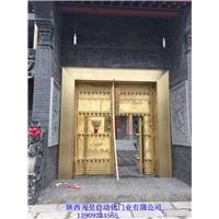 西安纯铜门 不锈钢镀铜门 复合铜门市场