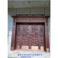 西安紫铜门批发加工