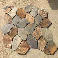 批发供应网贴乱型石冰裂纹文化石