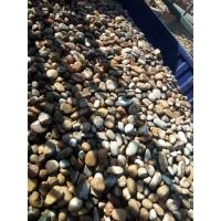 批发石材鹅卵石雨花石鹅卵石石头白色砾石彩砂沙子河沙