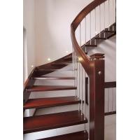 实木楼梯-楼梯扶手定制-弗劳思丹实木楼梯定制