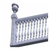 阳台围墙花瓶栏杆 别墅栏杆 欧式水泥栏杆 grc栏杆 罗马柱