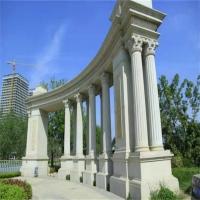 农村别墅罗马柱 轻钢别墅外墙罗马柱 grc罗马柱 水泥罗马柱