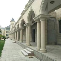 罗马柱 水泥装饰柱 广场商场罗马柱 欧式构件 外墙线条grc