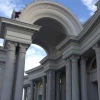 批发罗马柱 水泥罗马柱 别墅校园广场罗马柱 泡沫柱子 外墙线