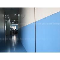 蓝品盾办公室装饰采用【蓝品盾】抗菌树脂板
