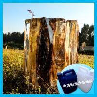 厂家供应环氧树脂胶 可做原木树枝铂晶环氧树脂