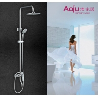 澳家居卫浴2203全铜淋浴花洒套装仿雨淋家用淋浴器