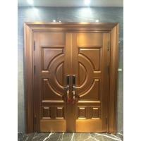 豪华别墅铜门玻璃铜门法院铜门价格美丽批发