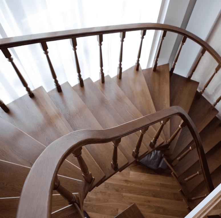 金冠豪-高端定制原木楼梯系列,品质奢华