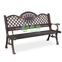 铸铝公园长椅,户外休闲椅,园林座椅