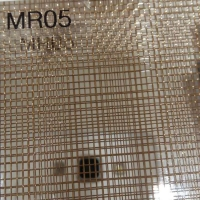 玻璃夾絲銅絲網 玻璃夾層金屬網