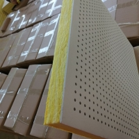 吸音穿孔復合板硅酸鈣板 穿孔石膏板