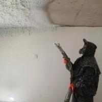 无机纤维喷涂 现场施工防火吸音材料