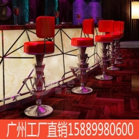 Y广州KTV酒吧 高档红色吧椅