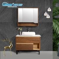 爱尚卫浴卫生间AS-6147-100多层实木浴室柜厂家