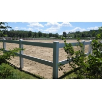 大連護欄PVC護欄白色塑鋼護欄PVC柵欄圍欄
