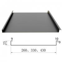 1.0mm厚鋁鎂錳合金屋面 度假村YX25-330金屬屋面板