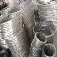 螺旋 白鐵皮風管配件角鋼法蘭盤304不銹鋼法蘭片方管共板法蘭