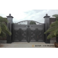 宝创铜门以先进的设备设计高端铜门 铜门私人订制找宝创铜门