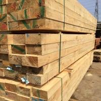 木材加工厂建筑方木厂家铁杉 工程工地松木建筑木方
