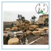 翁源園林景觀石 天然黃蠟石價格 黃蠟石批發基地供應