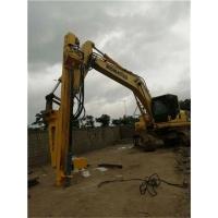 有一台小松挖掘机想用挖掘机改钻机厂家那里
