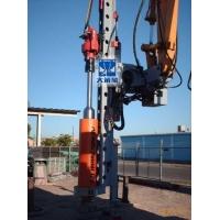 挖掘机改装打电线杆坑钻机挖改电线杆钻孔机FGH60大笨象
