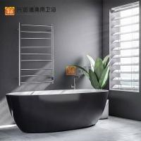 不锈钢圆管电热毛巾架烘干浴室**防水