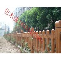 水泥围栏仿木漆河道护栏仿木涂料厂家直销
