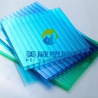 供应常州泰州上海双层中空板6毫米PC阳光板及PC板加工
