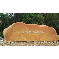 合作园林石公司 酒店招牌石