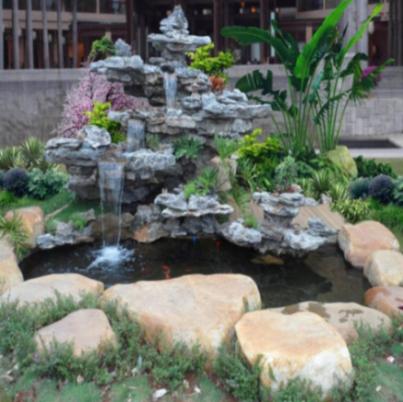 广东地下河旅游景区假山石