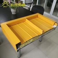 氟碳漆铝镁锰屋面板 厂房屋面改造 65-430直立锁边铝合金