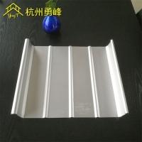 铝镁锰板厂家直销 汽车站65-400直立锁边金属屋面现场生产