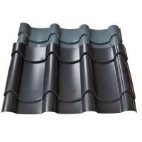 古代风格建筑765型金属屋面瓦 0.8mm铝镁锰瓦 仿古琉璃