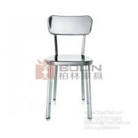 深泽直人不锈钢餐椅