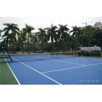 網球場建設工程,標準網球場施工建設