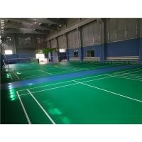 塑胶羽毛球场施工建设及羽毛球场地胶安装