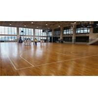 室內木地板球場|實木地板球場建設