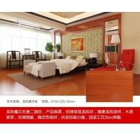 汉邦地板 实木系列—龙凤檀本色